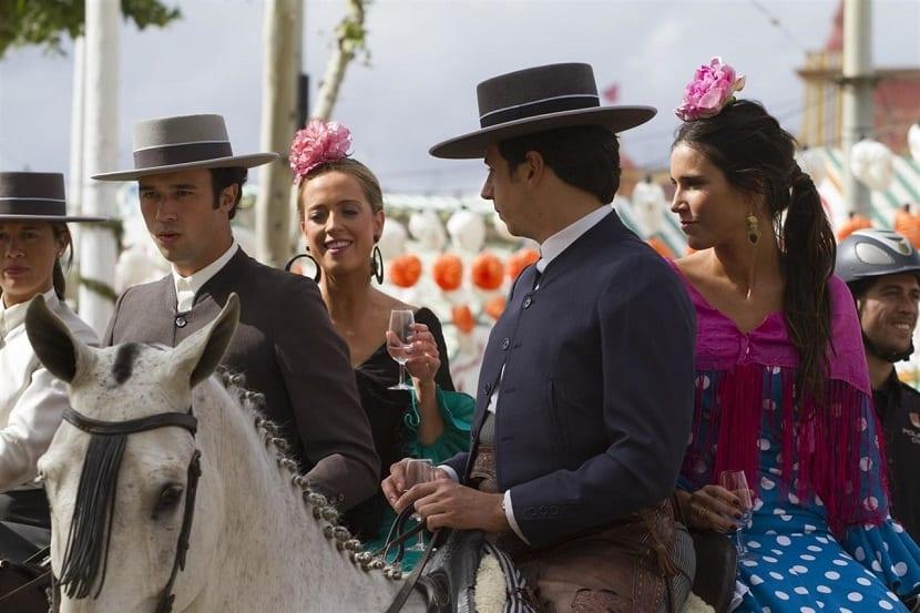 La Feria de Abril de Sevilla - Gente