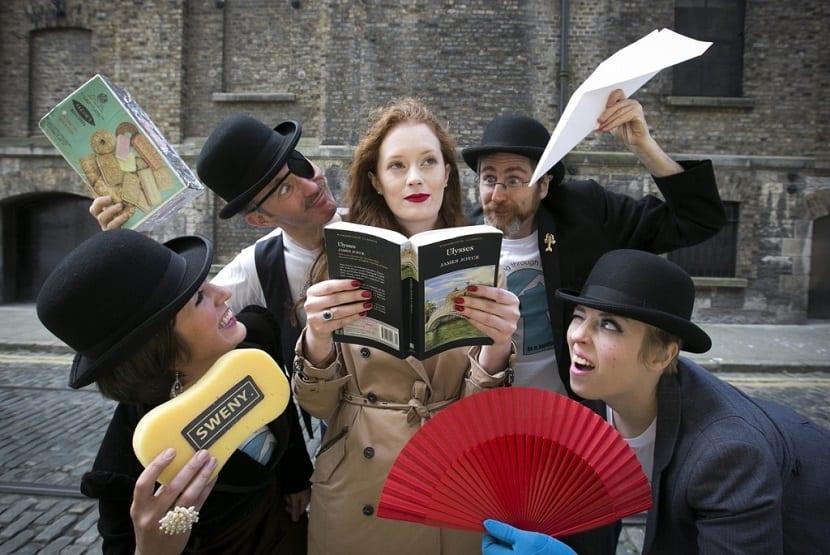 Viaje literario por Europa - evento del Bloomsday en Dublín