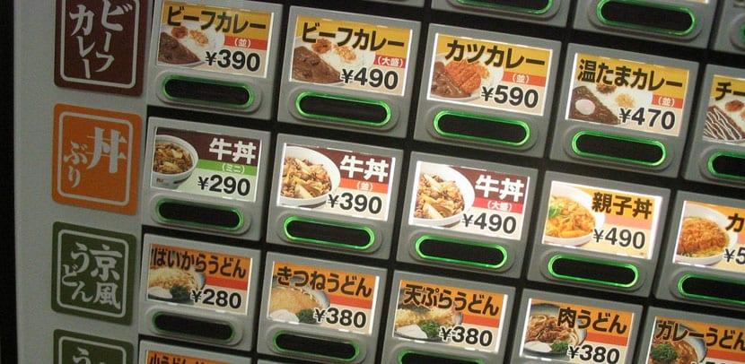Comida rápida en Japón