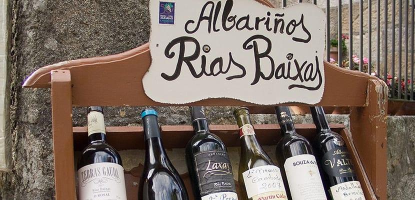 Vino albariño de Galicia