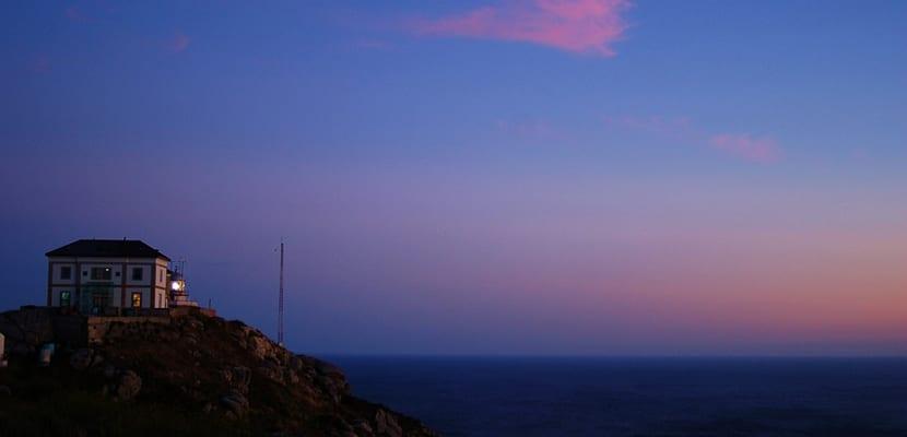Paisaje en Cabo Fisterra
