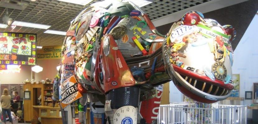 museo basura