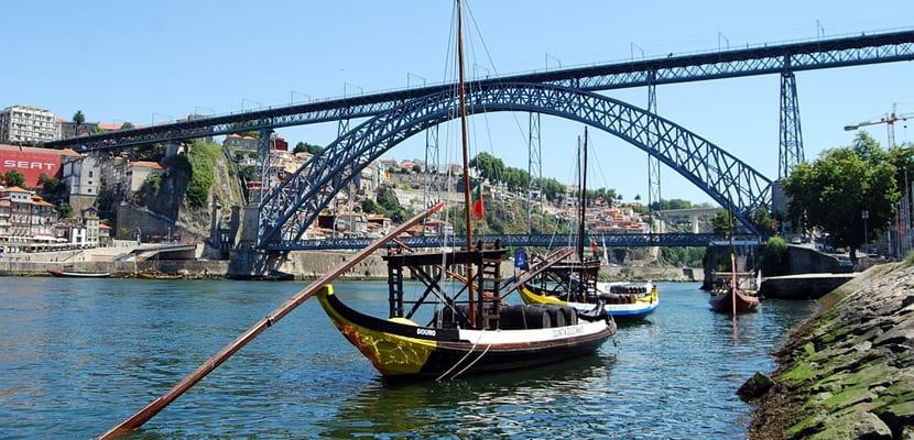 Río en Oporto