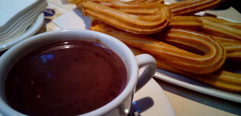 Chocolate con churros