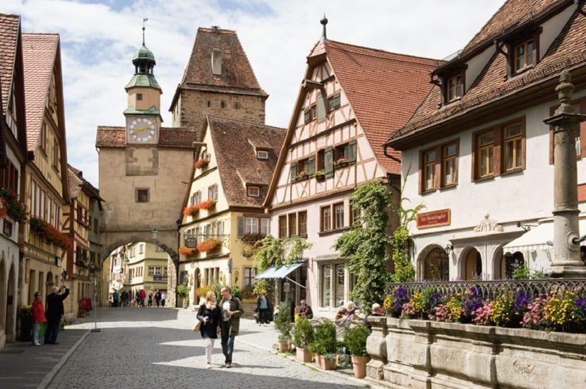5 Pueblos que parecen sacados de cuentos Disney - Rothenburg