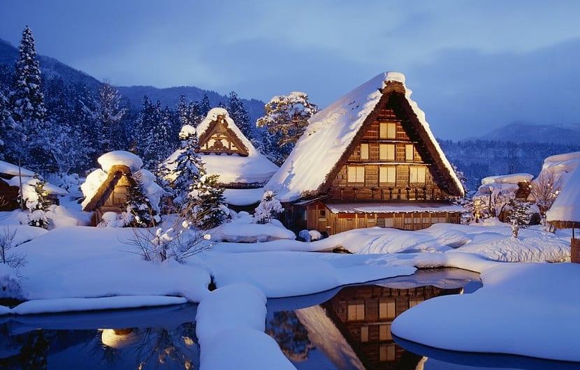 Shirakawa-go, Gifu Prefecture, Japan --- Image by © Hiromi Morita/Aflo/Corbis