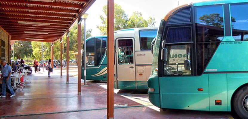 Autobuses en Creta