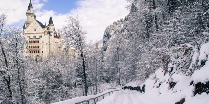 Camino al Castillo Neuschwanstein