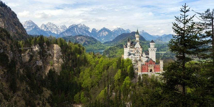 Castillo Neuschwanstein 1