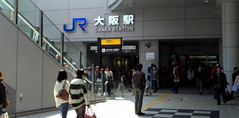 Estación Osaka