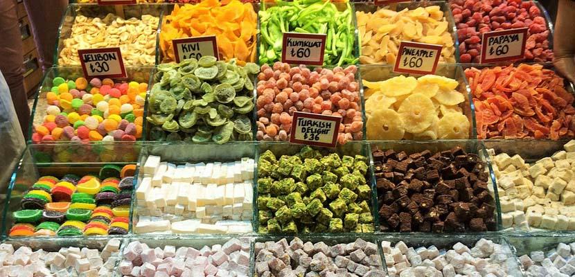 Estambul Bazar de las Especias