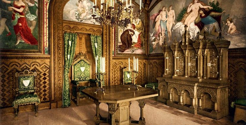 Interior del Castillo Neuschwanstein