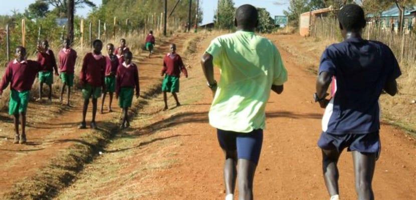 kenia runners