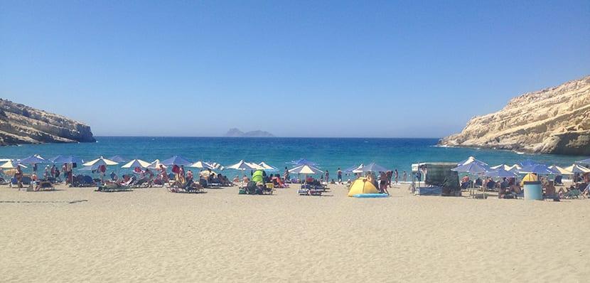 Playa Matala 1