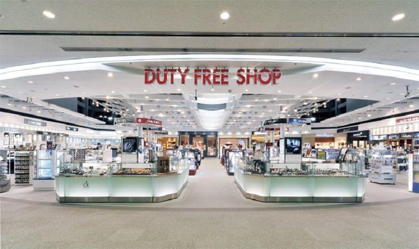 Volar por primera vez - Duty free