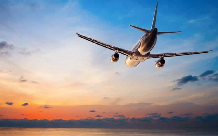 Volar por primera vez