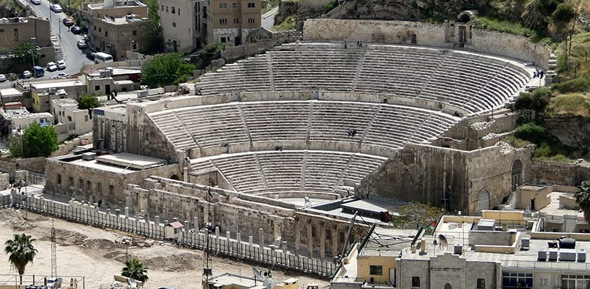 Anfiteatro Romano de Amman