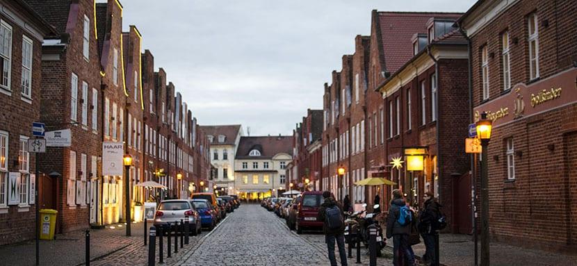 Barrio Holandés en Potsdam