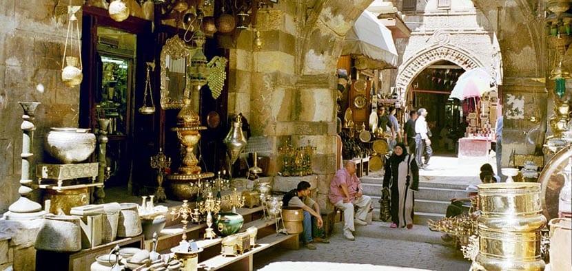 Bazar de El Khan el Khalil