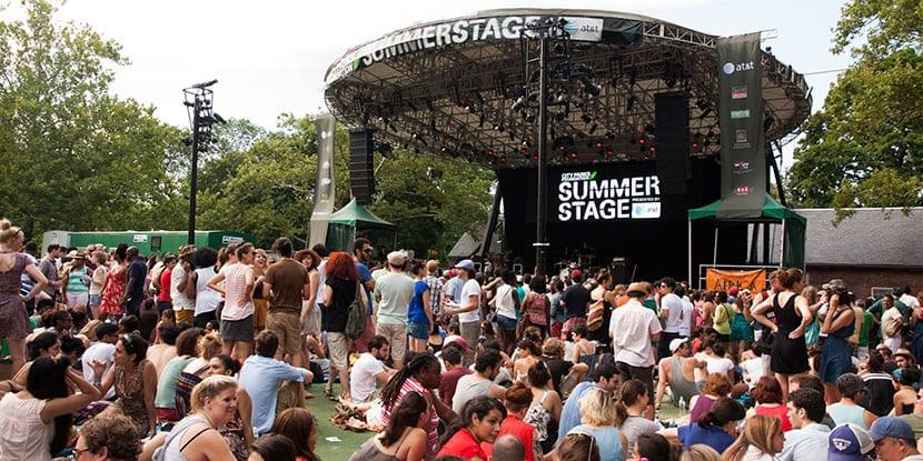 Conciertos de verano en Central Park