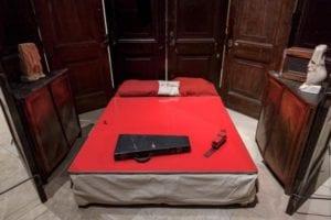 Habitación roja, de Louise Bourgeois