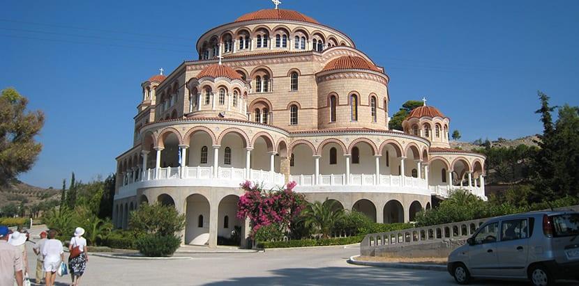 Iglesia bizantina en Aegina
