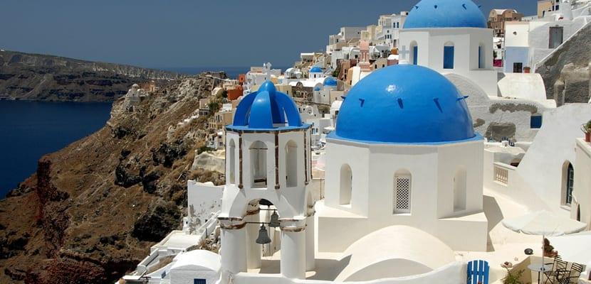 Santorini la isla griega con puestas de sol m s bellas for Casas en islas griegas
