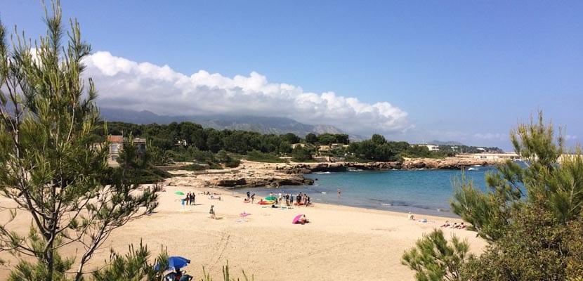 Vacaciones familiares en la costa catalana