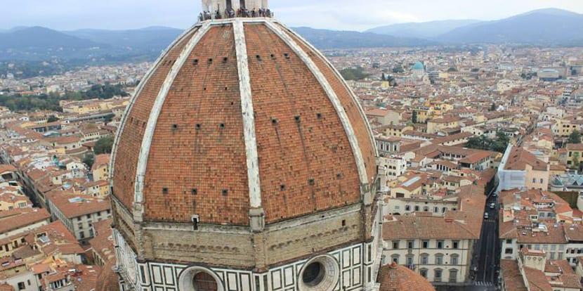 Vista desde el Campanario de Florencia