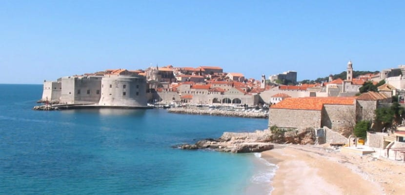 Dubrovnik playa