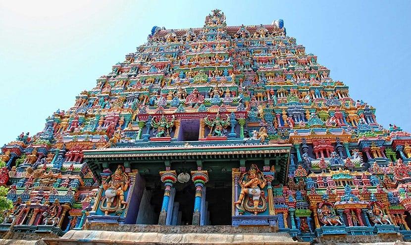 India - Templo de Meenakshi