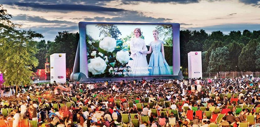 Festival de Cine al Aire Libre de Villette