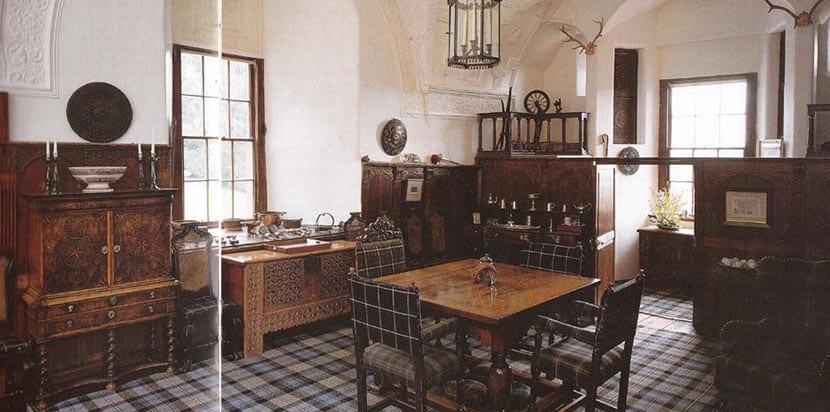 Interior del Castillo Craigievar