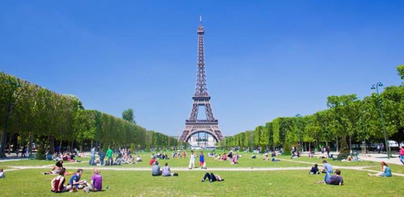 París en verano