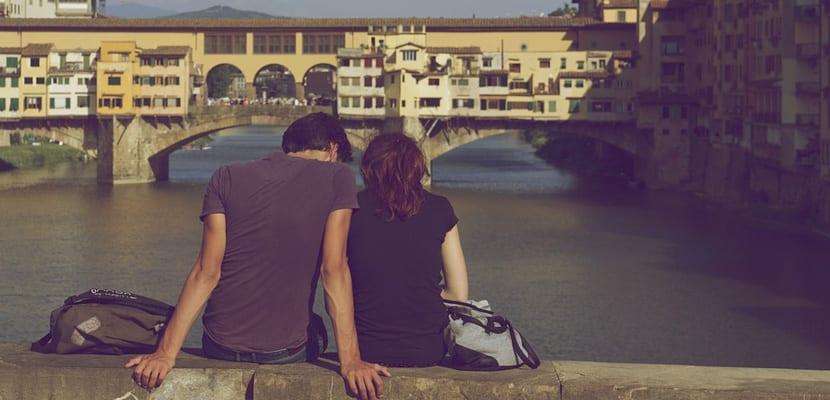 Lugares románticos en Italia