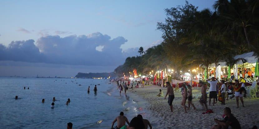 Noche en Boracay