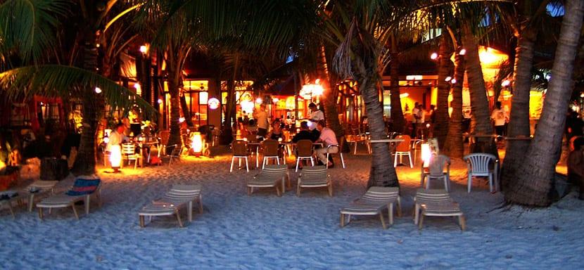 Playa Blanca de noche