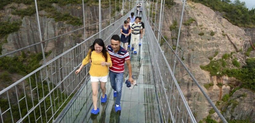 Puente de cristal China