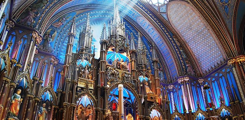 Basílica Notre Dame Montreal
