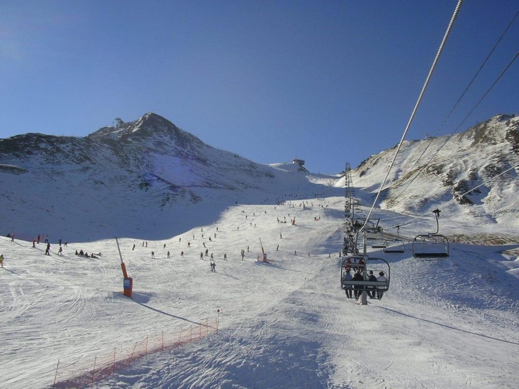 Estación de esquí en Grandvalira
