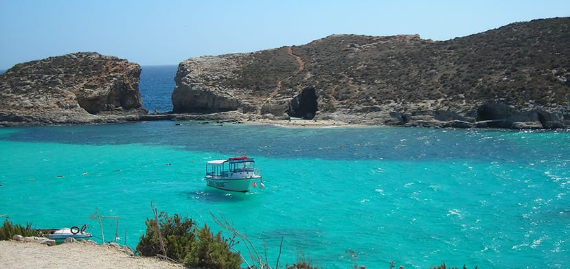 Laguna Azul en Gozo