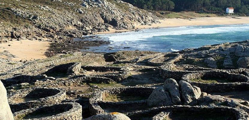 Playa de los Castros de Baroña