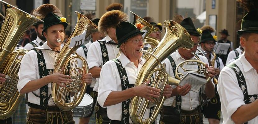 Desfiles en el Oktoberfest