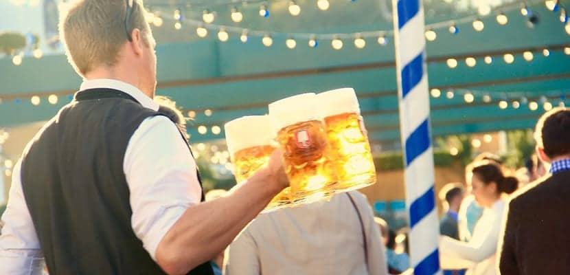 Carpas de cerveza