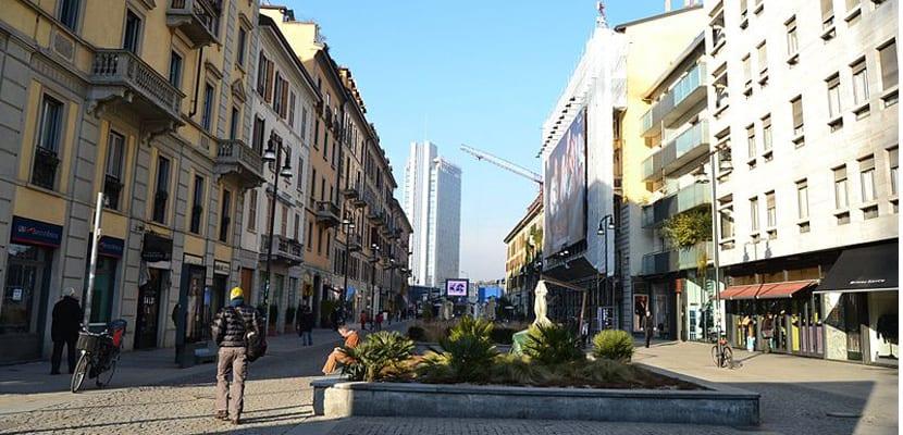 Calle de Milán
