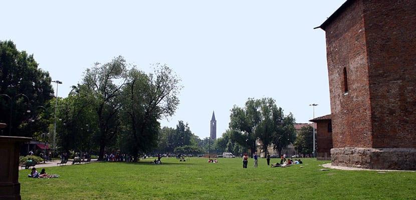 Parque de milán