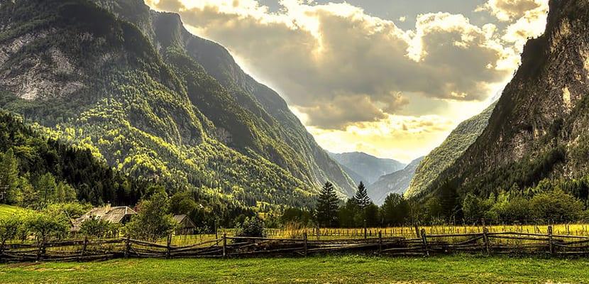 Valle del río Soca