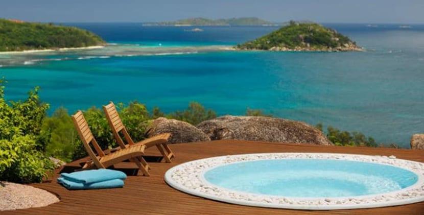 Tres resorts en las islas seychelles - Cuanto cuesta un jacuzzi ...