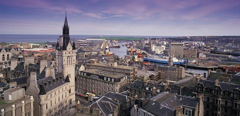 Aberdeen, una perla en Escocia