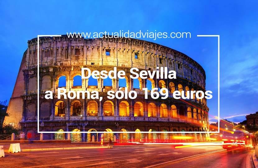 Vuelos desde Sevilla a Roma
